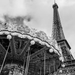 Paris Fotografie Wanzki Eiffelturm Karrussel