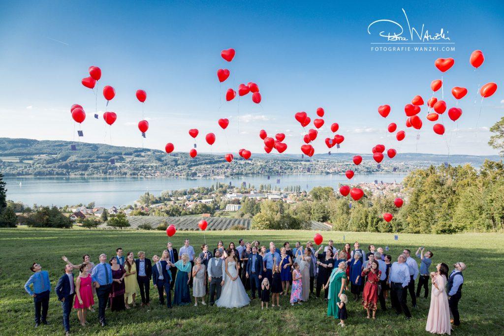 Gruppenfoto Fotograf Hochzeit