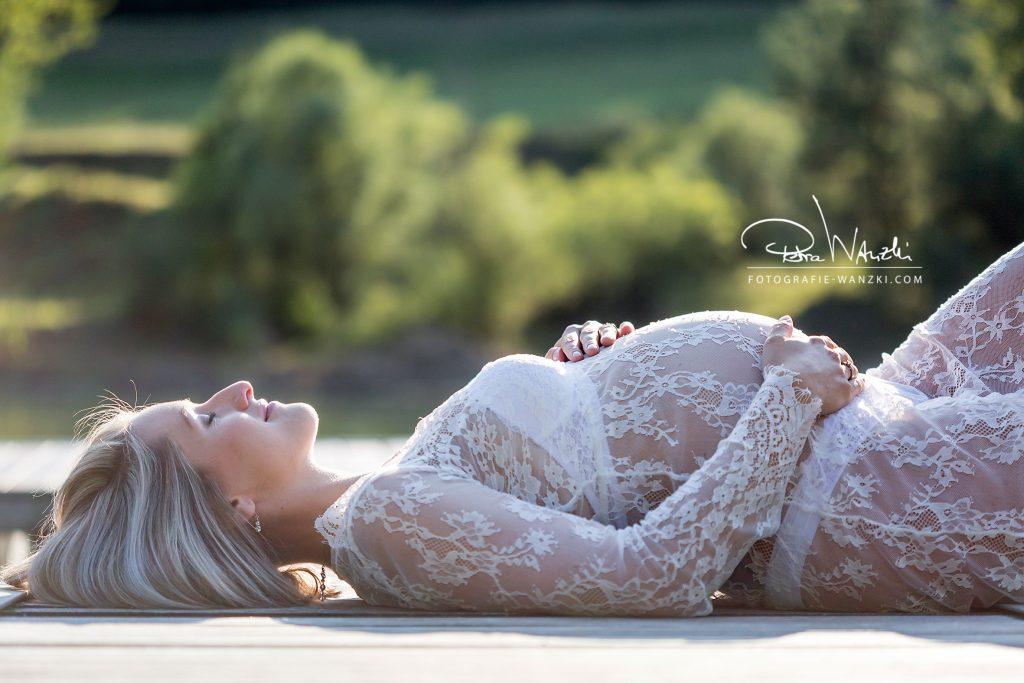 Schwangerschaftsbild Winterthur Fotograf