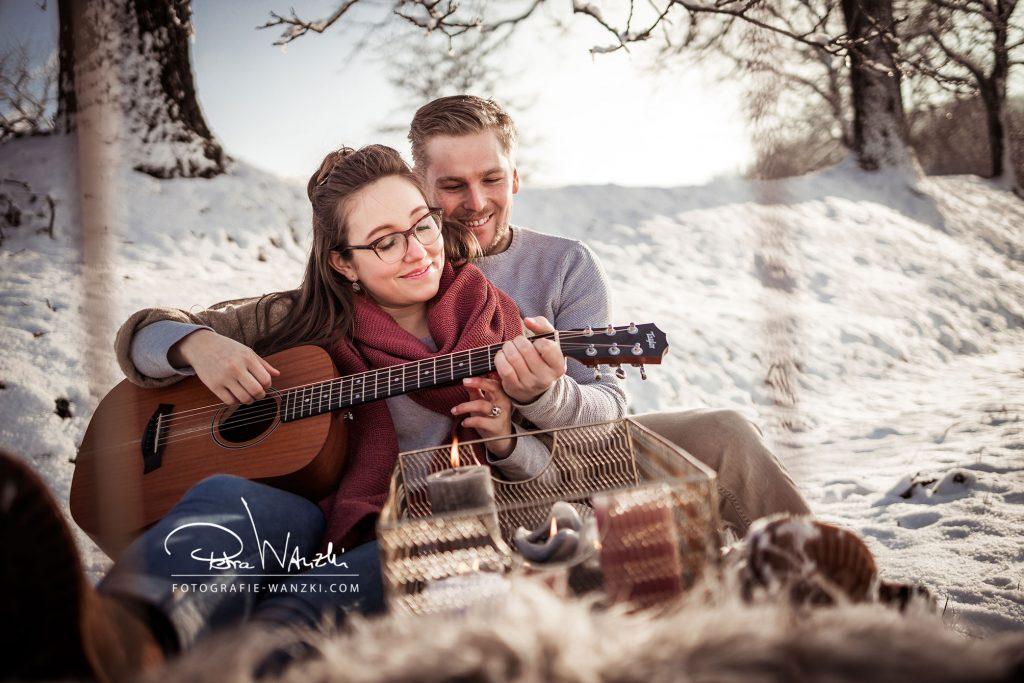Fotoshooting Winterthur Paare