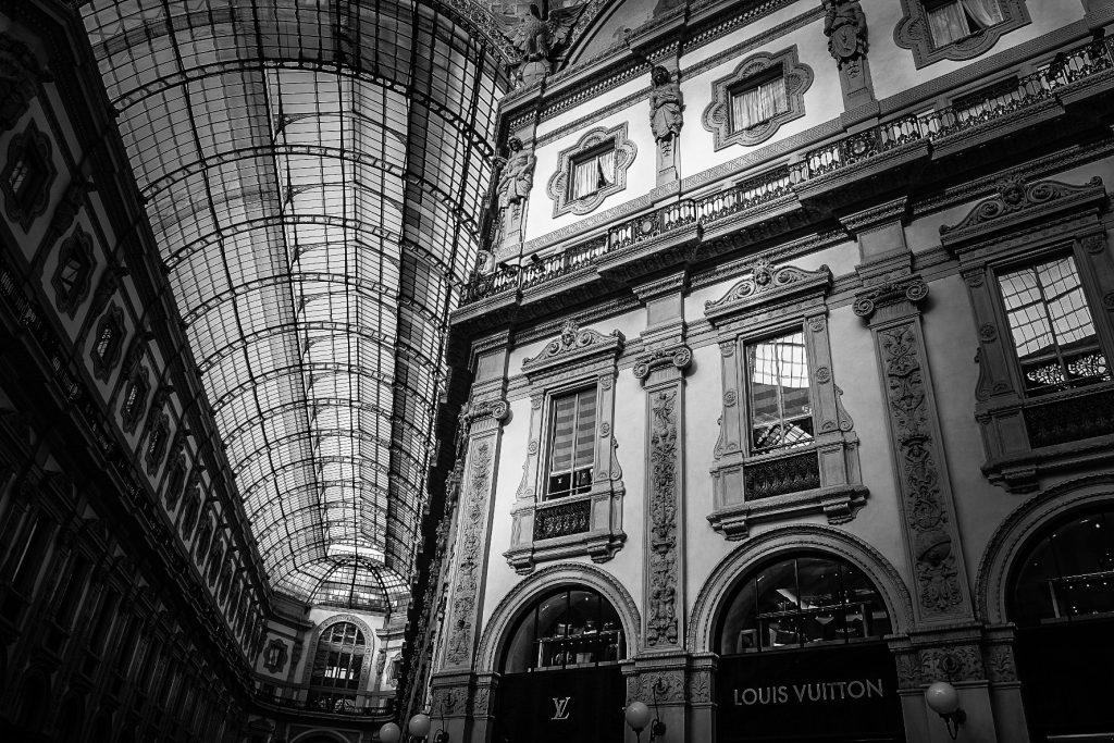 Kunstdruck Mailand Fotografie Wanzki