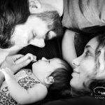 Familienbild Baby