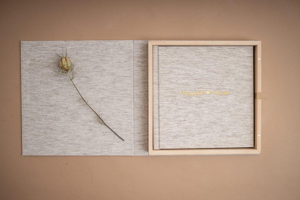Fotoalbum in schöner Holzbox