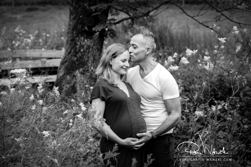 Schwangerschaft und Baby FotoShooting