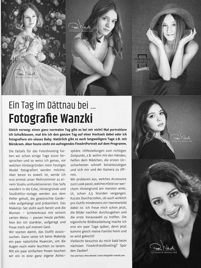 1 Tag mit Fotografie Wanzki erlebe ein FotoShooting FineArt Portrait in Winterthur Dättnau