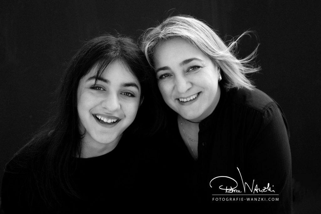 Mutter und Tochter Portraitz
