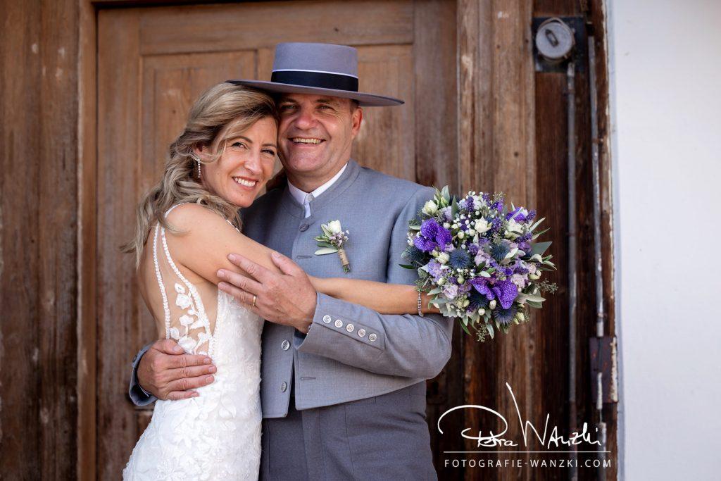 Brautpaar Landhochzeit